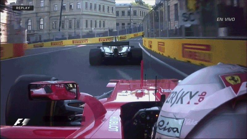 Sebastian Vettel: Lewis Hamilton brake-checked me