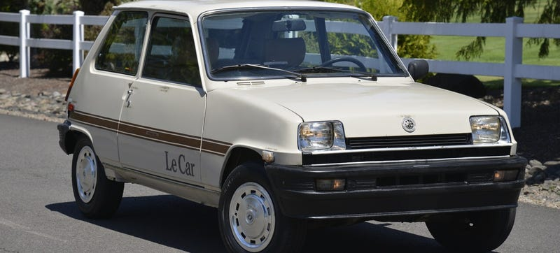 Le Cheapest Classic Car Ever Is A $1,600 Renault Le Car
