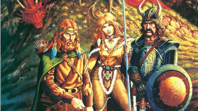 Illustration for article titled The first Dragonlance novels gave Dungeons & Dragons a new dimension