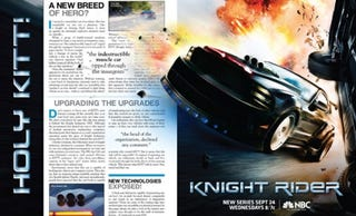 Illustration for article titled Who Is Supposed To Fall For Knight Rider's BullKITT?