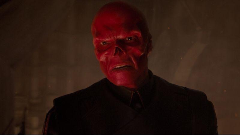 Hugo Weaving as the Red Skull in Captain America: The First Avenger