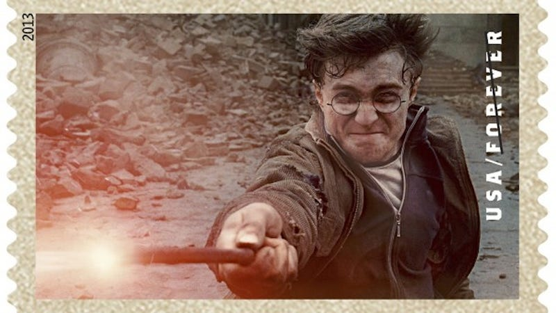Illustration for article titled Harry Potter Not American Enough for Patriotic Stamp Enthusiasts