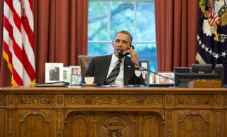 President Barack ObamaPete Souza/White House via Getty Images