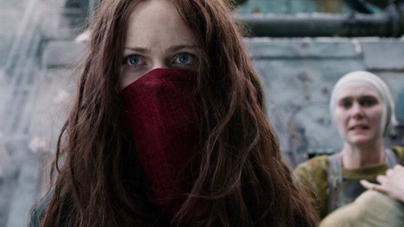 Hera Hilmar in Mortal Engines. Image: Universal
