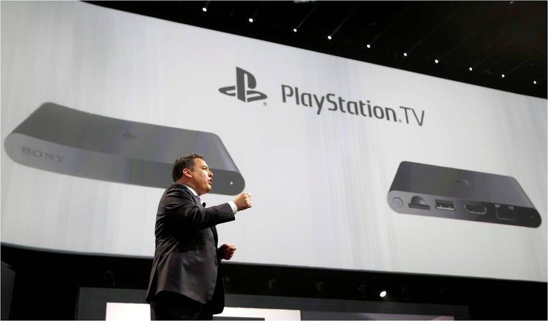 Illustration for article titled PlayStation TV: la consola más pequeña llega a finales de año por 99$