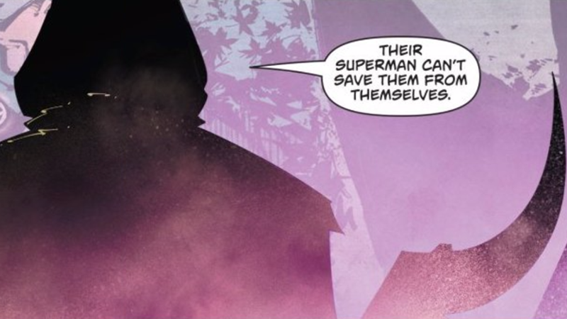 Superman made their party to the white supremacist in his latest adventure