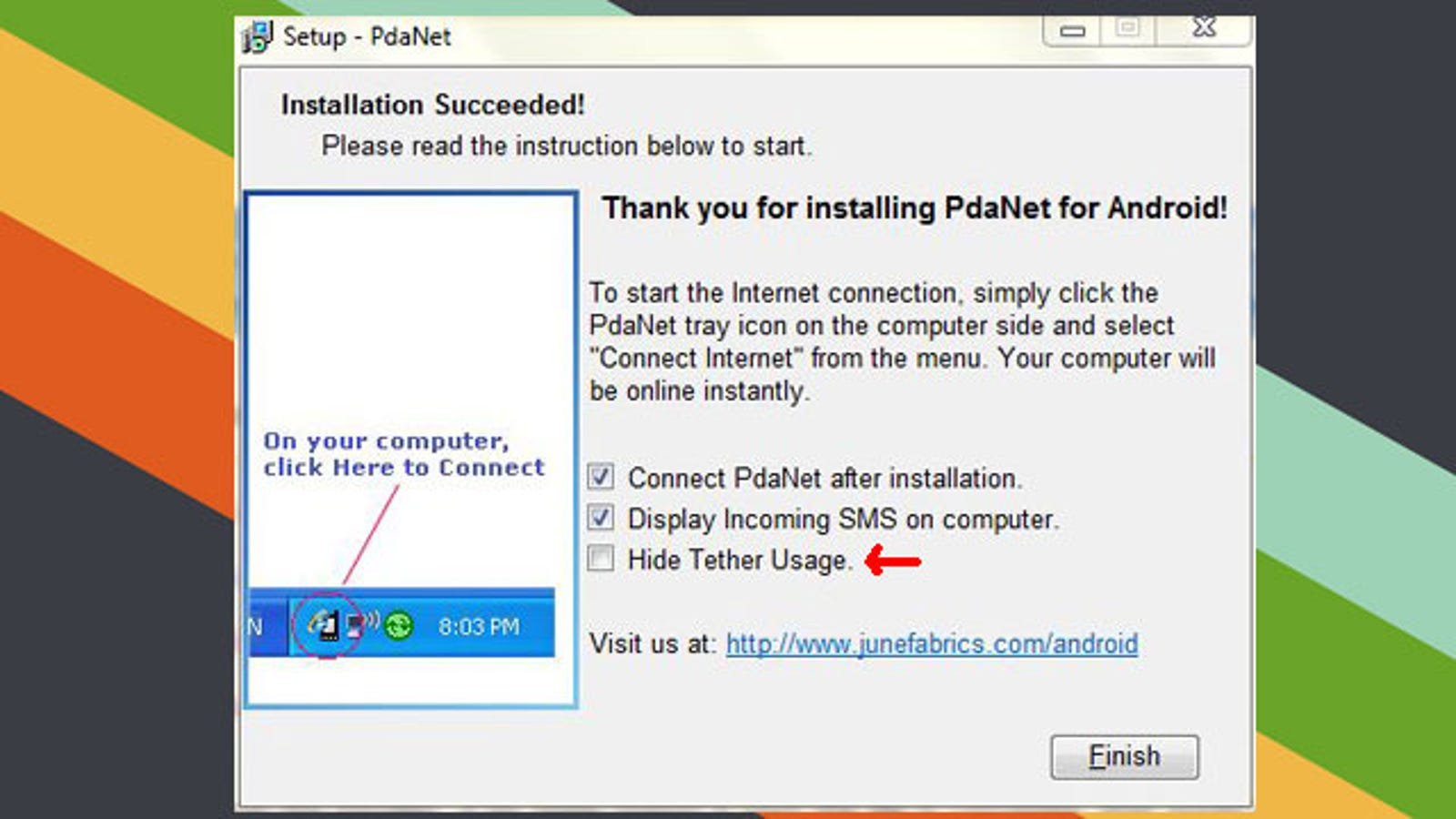 PdaNet 3 0 Adds Feature to Mask Your Tethering Usage