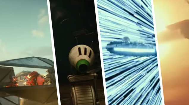 There s an Entirely New TIE Fighter and Droid in the New Star Wars Trailer