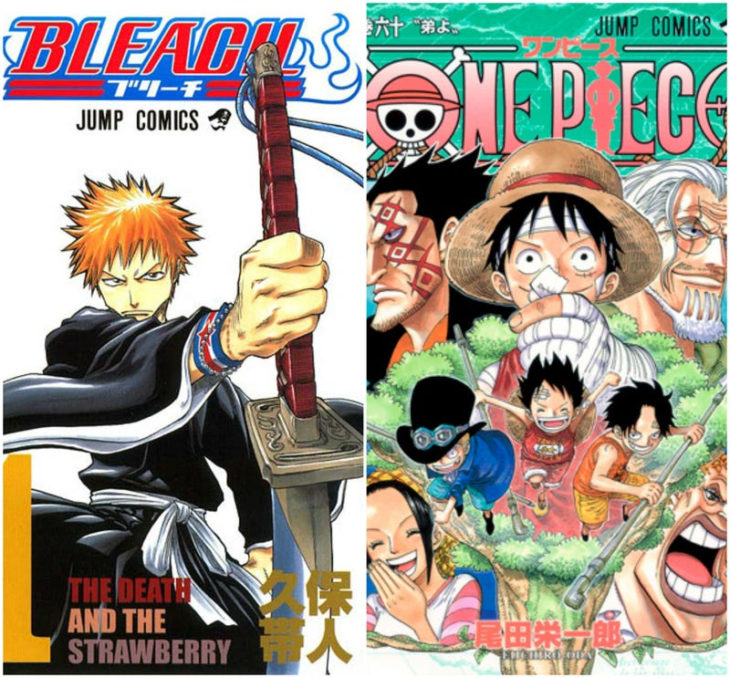 Illustration for article titled Shonen Jump Round Up: Bleach 618 & 619 and One Piece 779