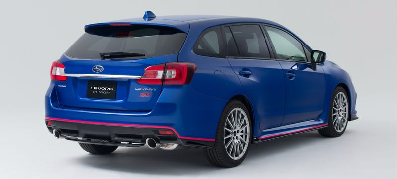 Subaru Is So Close To Selling A Sti Wagon