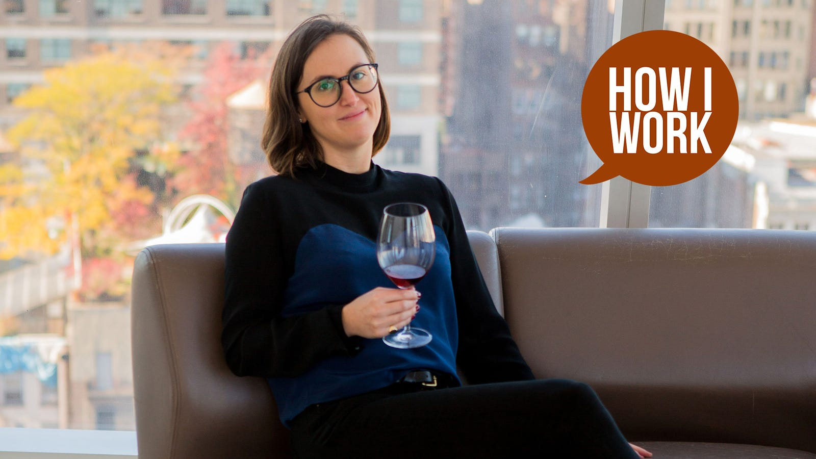QnA VBage I'm Ashley Santoro, Sommelier for The Standard Hotel, and This Is How I Work
