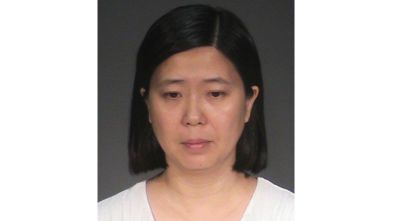 The alleged assailant, Lili Huang.