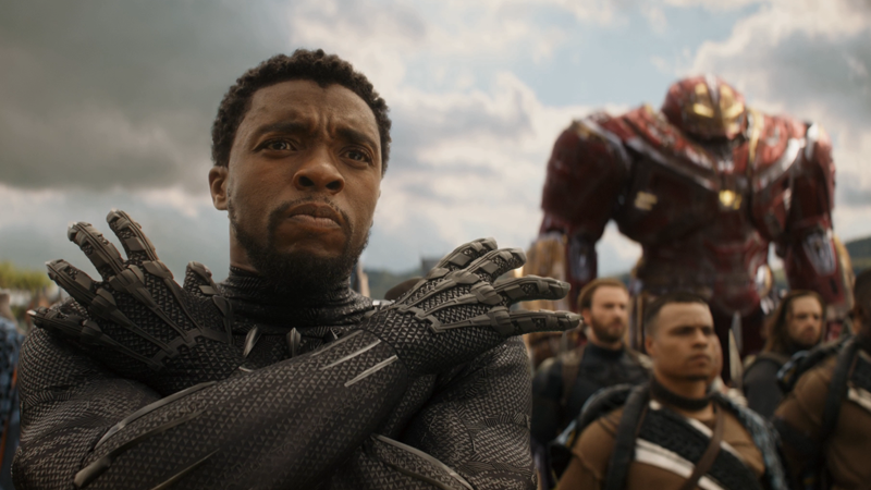 T'Challa, bracing himself for another round of fake Avengers 4 rumors.
