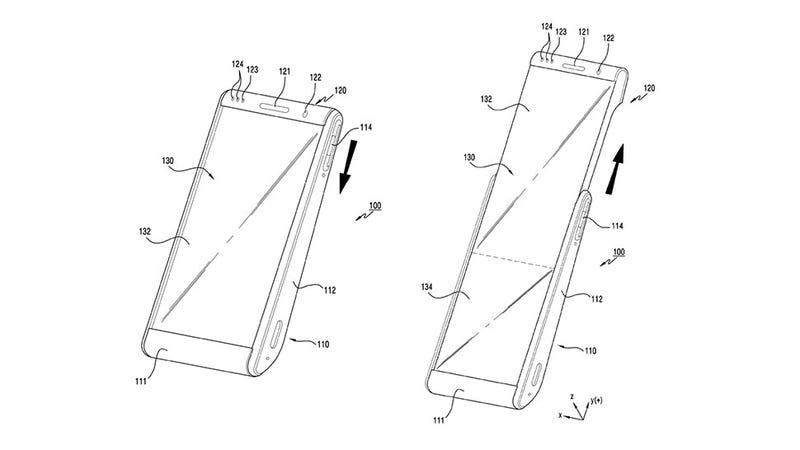 Illustration for article titled Forget the Galaxy Fold, Samsung Is Already Dreaming About Rollable Phones