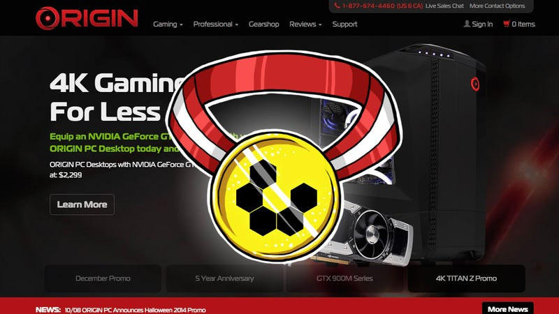 Illustration for article titled Most Popular Custom PC Builder: Origin PC