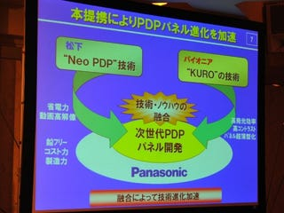 Illustration for article titled Confirmed: Panasonic and Pioneer Teaming Up for Plasma Panels