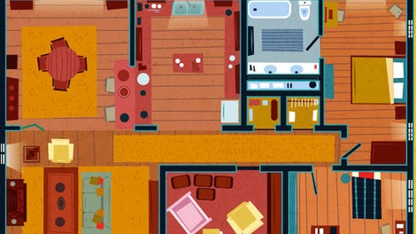 Check Out The Floor Plans For Homes Of Por Tv Shows