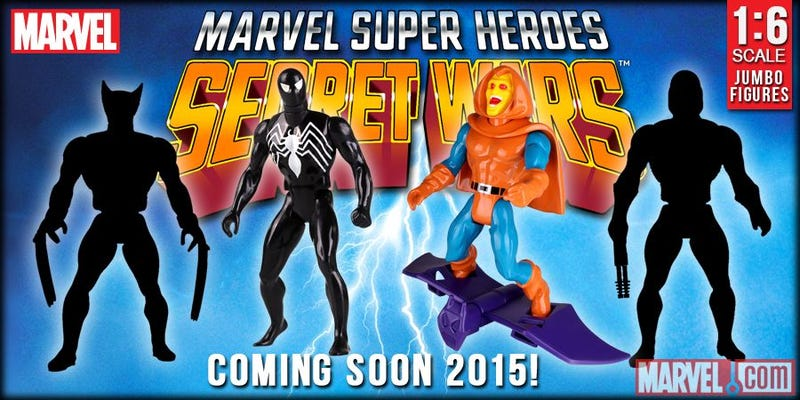 Illustration for article titled Secret Wars is back, and so is its Toyline