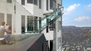 Illustration for article titled US Bank Tower in Los Angeles to install a glass slide 1,000ft up
