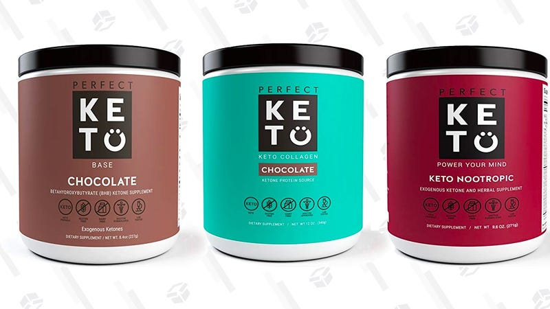 $3 off Perfect Keto Supplements | Amazon$2 off Perfect Keto Protein Powders | Amazon