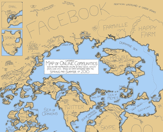 Illustration for article titled The Updated Map of Online Communities