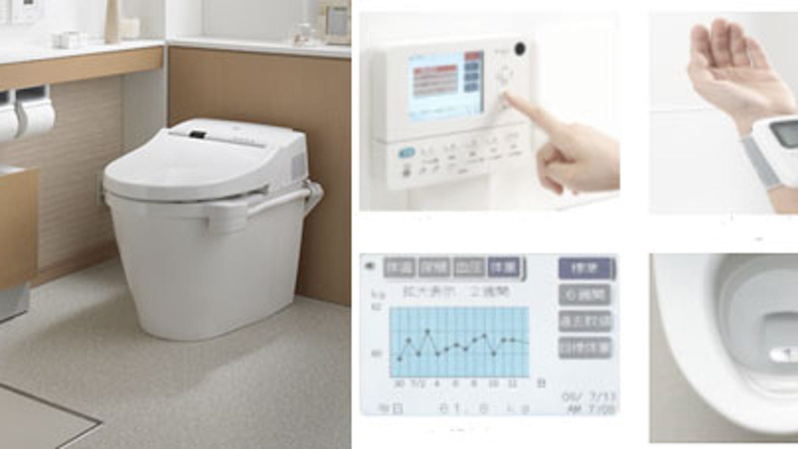 Toto\'s Intelligence Toilet II Smartly Measures The Temperature Of ...