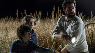 The family from A Quiet Place.