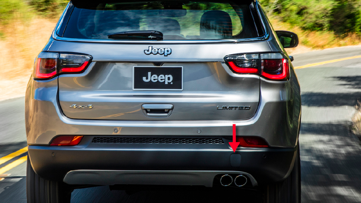 Here's What Those Little Shapes On Car Bumpers Are For