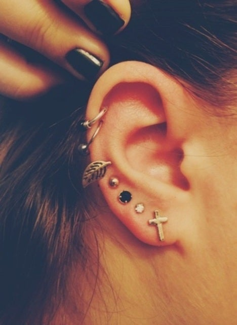 Taking Care Of Infected Ear Piercings Ache