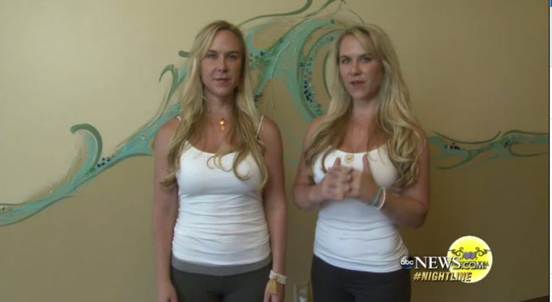Illustration for article titled Murder Charge Dropped Against Yoga Instructor Who Drove Off Cliff With Twin Sister