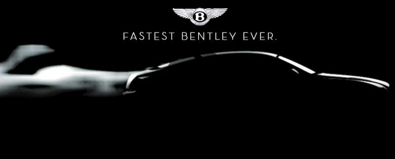 Illustration for article titled Bio-Bentley: Fastest Bentley Ever Teased With New Video