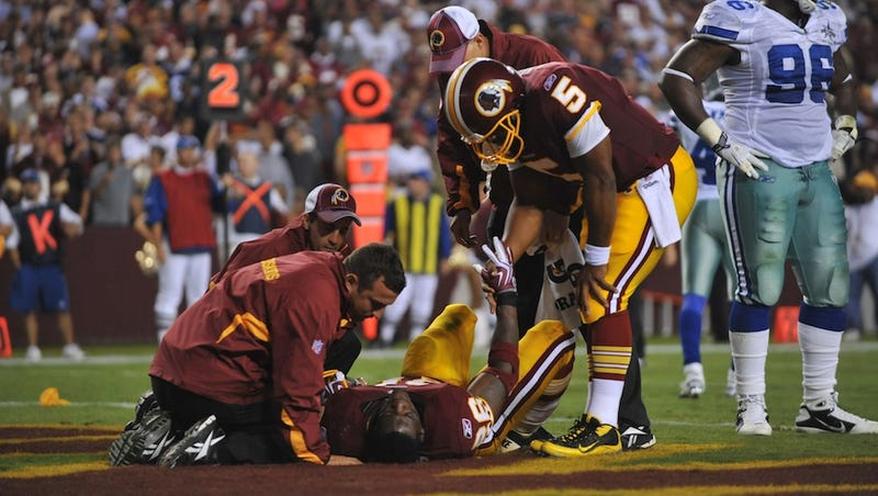 Illustration for article titled Clinton Portis Sues The NFL Over Concussions