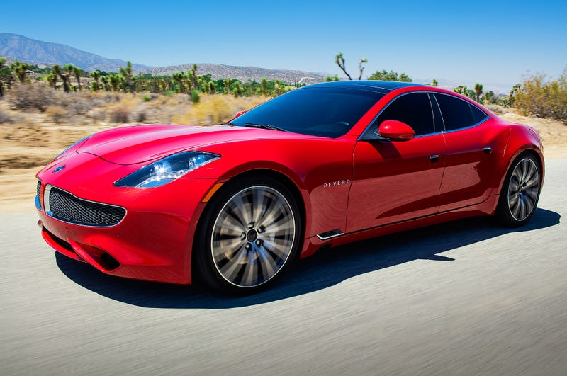 Illustration for article titled Tesla's closest competitor Karma's site and configurator is live