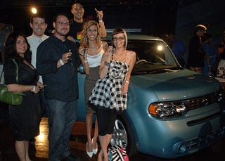 Illustration for article titled Tricky Canadians Win 2009 Nissan Cube