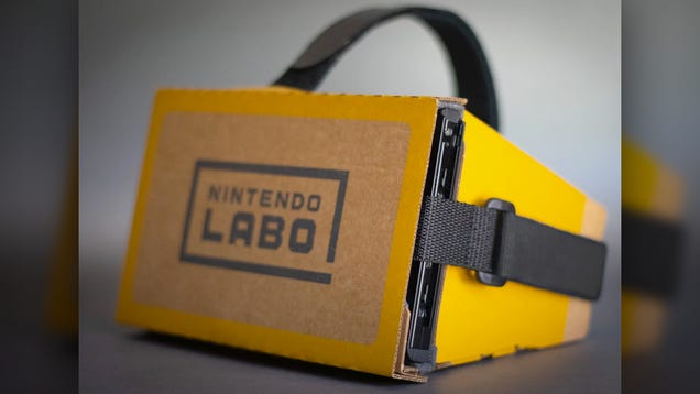 Just in Time for Zelda VR, Here s a Cheap Way to Strap Your Nintendo Switch to Your Face