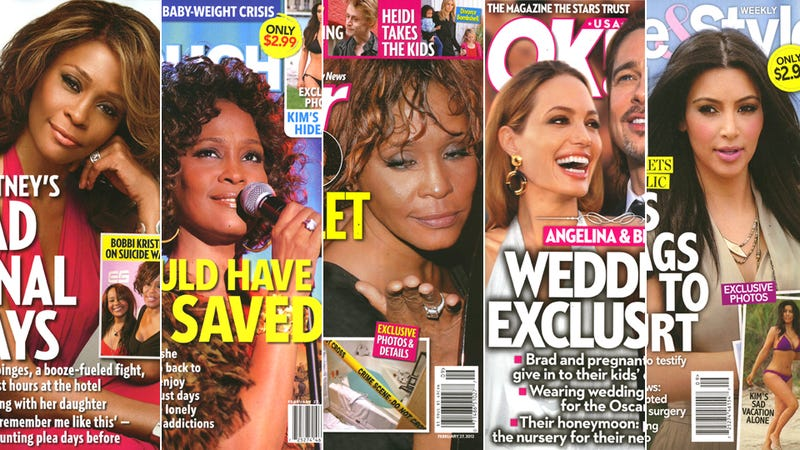 Illustration for article titled This Week In Tabloids: Whitney's Minions Cleaned Up the Cocaine Before Medics Arrived
