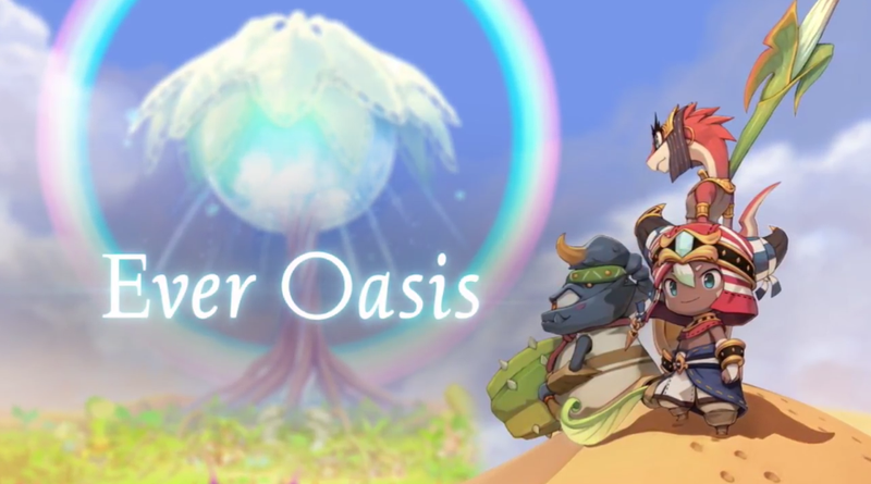 Illustration for article titled Nintendo Reveals New 3DS RPG, Ever Oasis