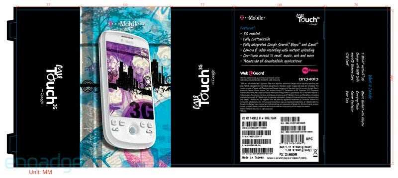 Illustration for article titled HTC Magic Reborn, Repackaged as the T-Mobile MyTouch 3G