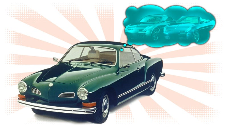 Illustration for article titled How Many Times Has Karmann Attempted To Resurrect The Karmann-Ghia?