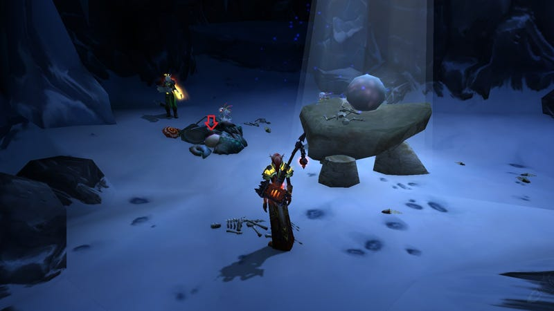 Illustration for article titled World of Warcraft Players Discover Secret Cave With Pet Inside