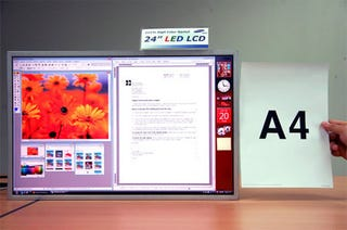 Illustration for article titled Samsung's LED-backlit Monitors Will Offer Best Color Accuracy