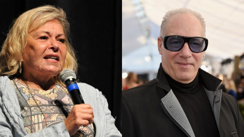 Illustration for article titled Roseanne Barr and Andrew Dice Clay Have Joined Forces to Save America's Racist Jokes