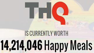 Illustration for article titled THQ Is Currently Worth 14,214,046 Happy Meals