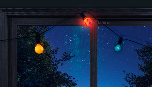 The Solar System Is Always Visible At Night With These Planetary String Lights