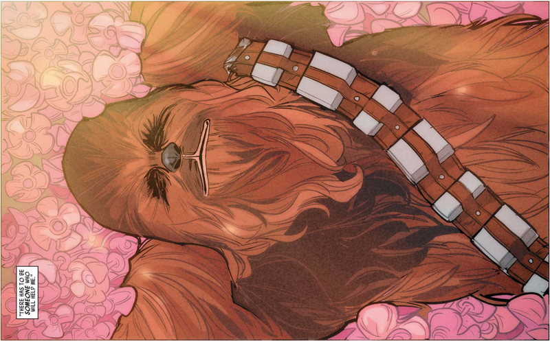 Illustration for article titled This Week's New Chewbacca Comic Is Great