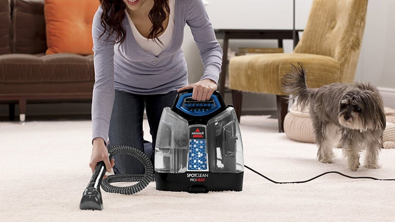 Bissell SpotClean ProHeat Portable Spot Cleaner | $75 | Amazon