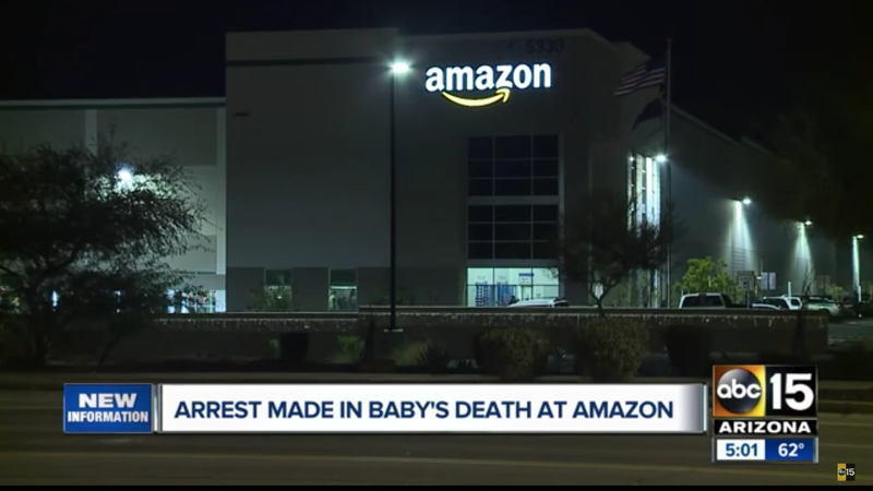 Illustration for article titled Woman Arrested After Dead Newborn Found in Amazon Warehouse