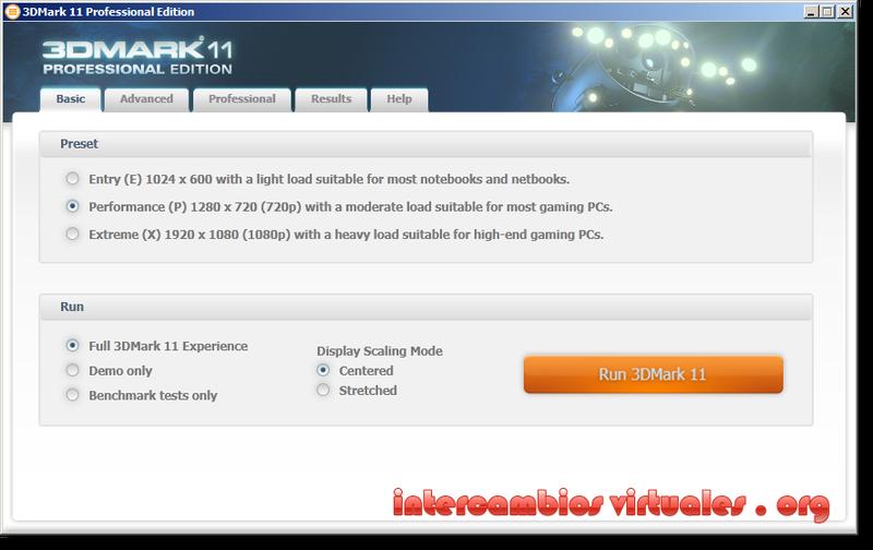 futuremark 3dmark 11 free download