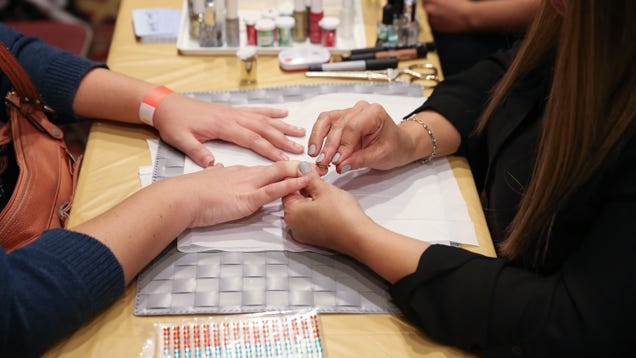 The Most Toxic Place You Could Go This Weekend Might Be a Nail Salon