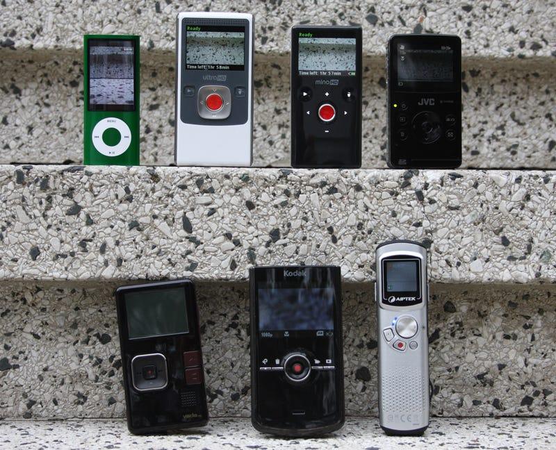 Illustration for article titled Ultimate Pocket Camcorder Comparison